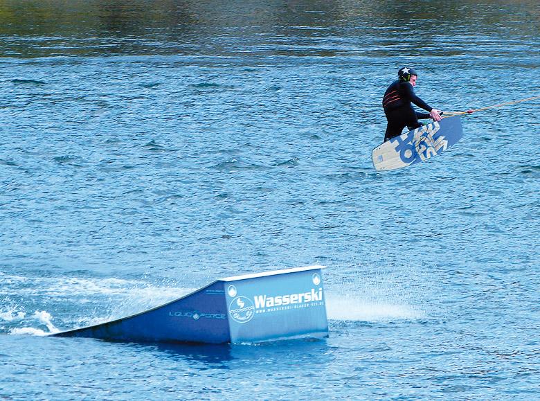 Wasserski am Blauen See