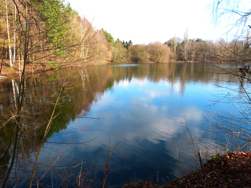 Blauer See in Misburg-Nord