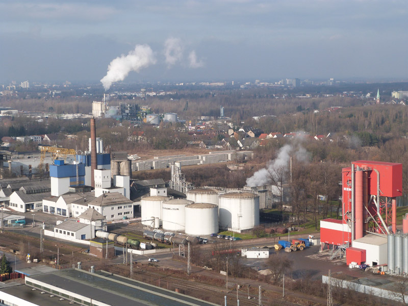 Industriell geprägtes Misburg-Nord
