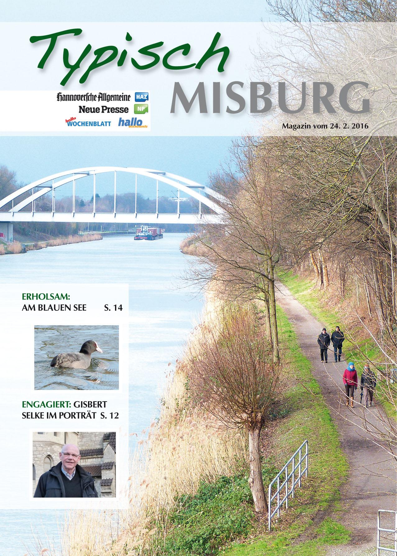 Titelseite erste Ausgabe Typisch Misburg