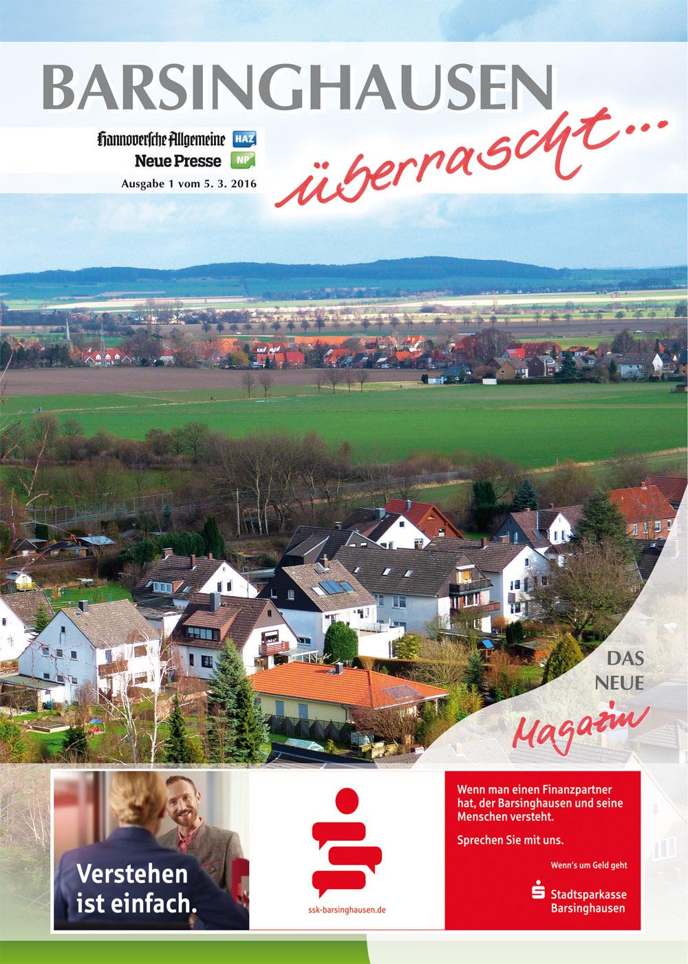 Titelseite Barsinghausen überrascht