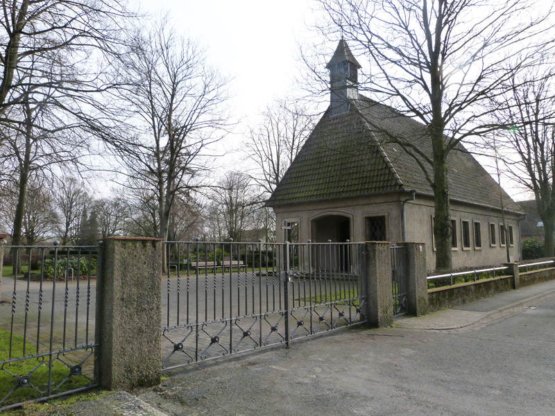 Die Friedhofskapelle in Vinnhorst
