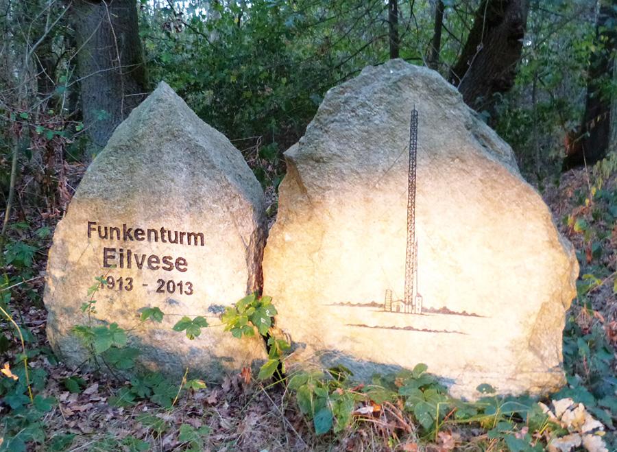 Erinnerung an den Funkenturm, Eilvese, Neustadt