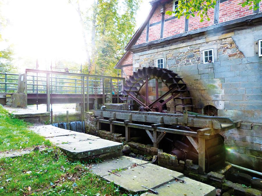 Die Laderholzer Wassermühle in Neustadt