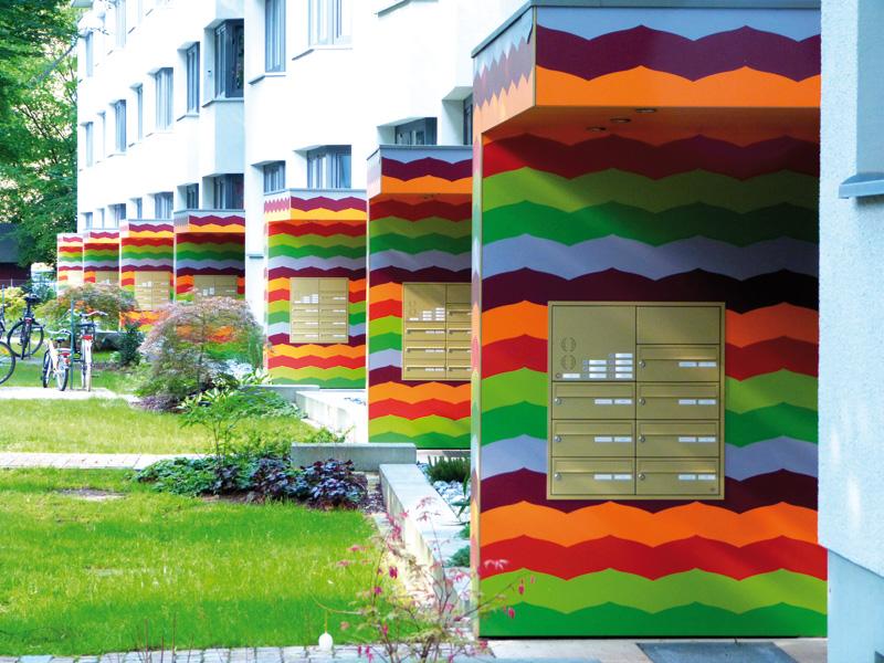 Farbenfrohes Wohnen bei Gartenheim