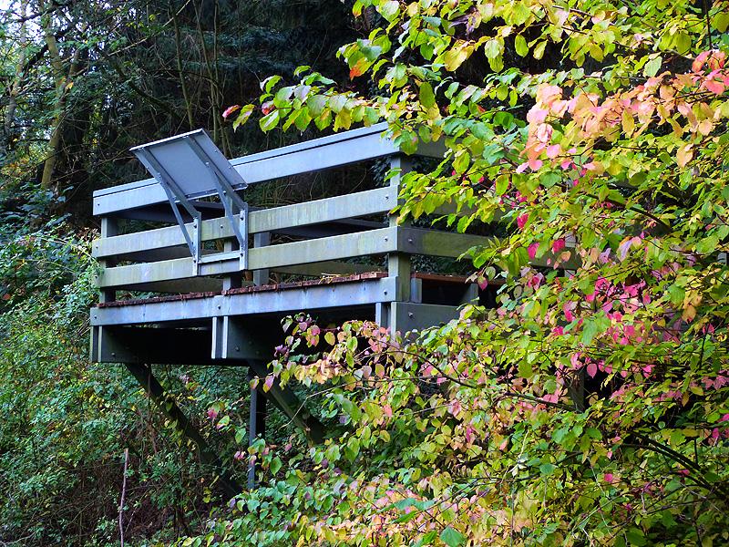 Aussichtsplattform an der Kückenmühle