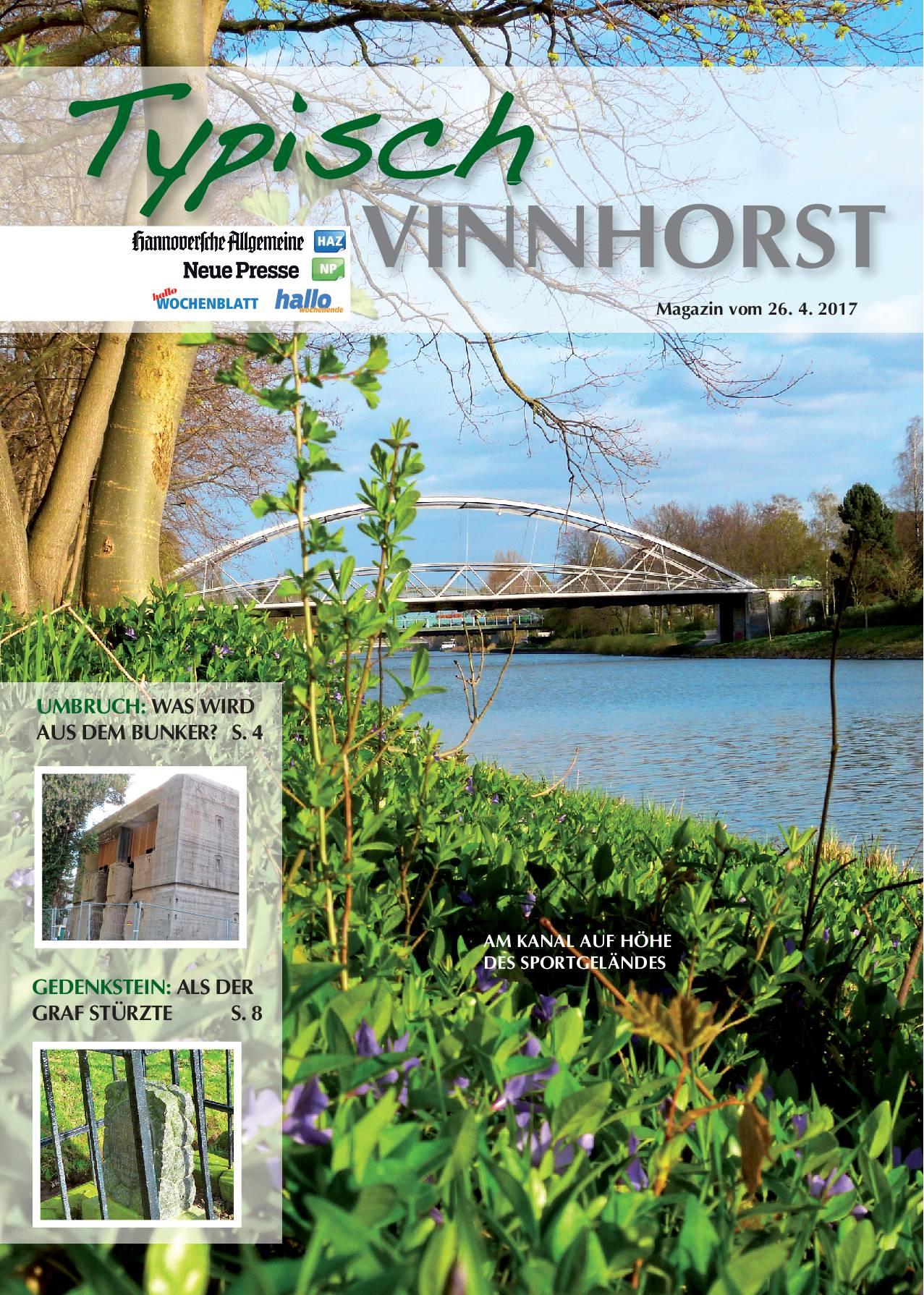 Titelseite Typisch Vinnhorst 2
