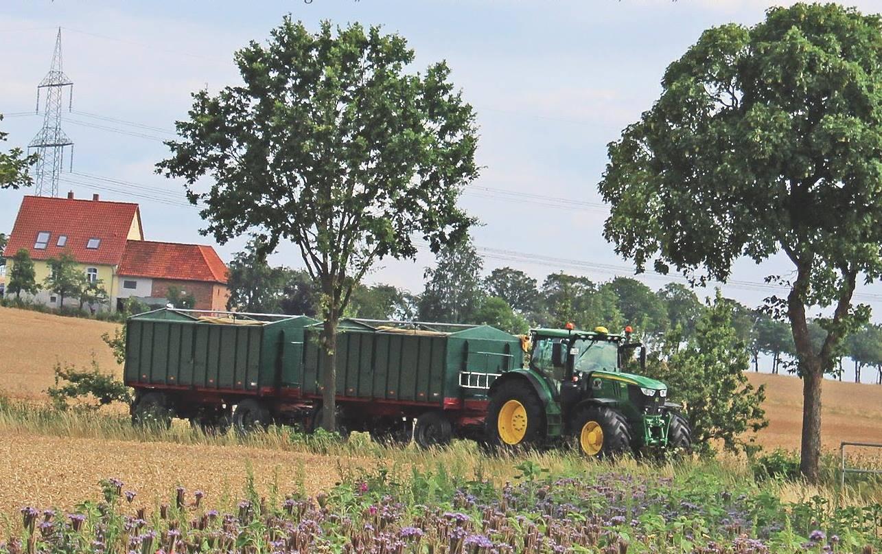 Landwirt bei der Arbeit