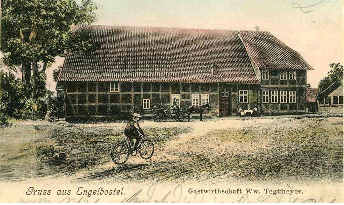 Gastwirtschaft Tegtmeyer in Engelbostel 1904