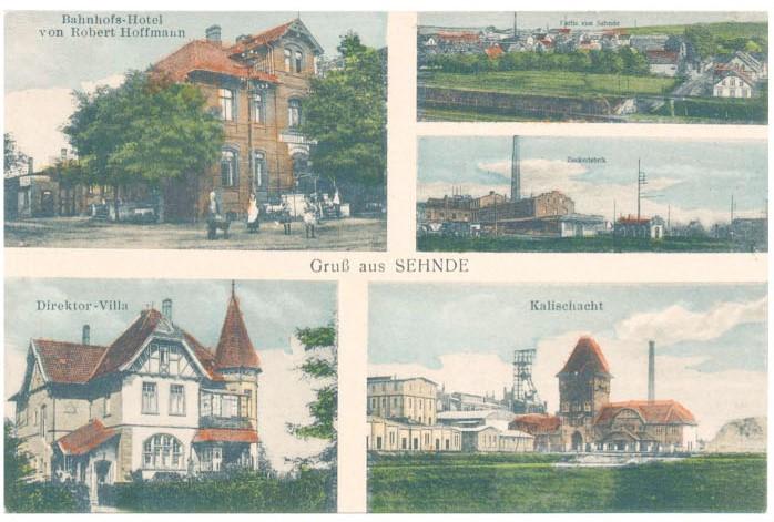 Alte Postkarte aus Sehnde