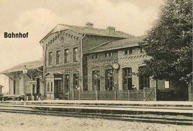Sehnder Bahnhof 1920